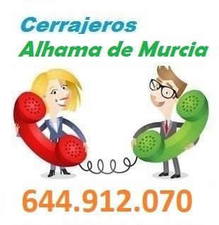 Telefono de la empresa cerrajeros Alhama de Murcia